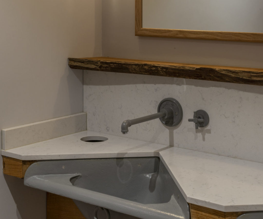 Bespoke taps at the oak barn