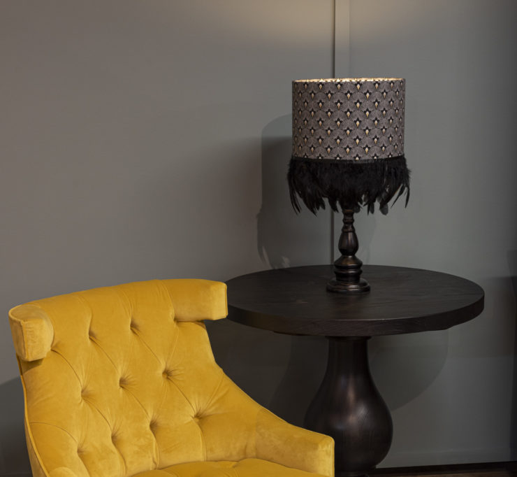 products shot of a lamp shade