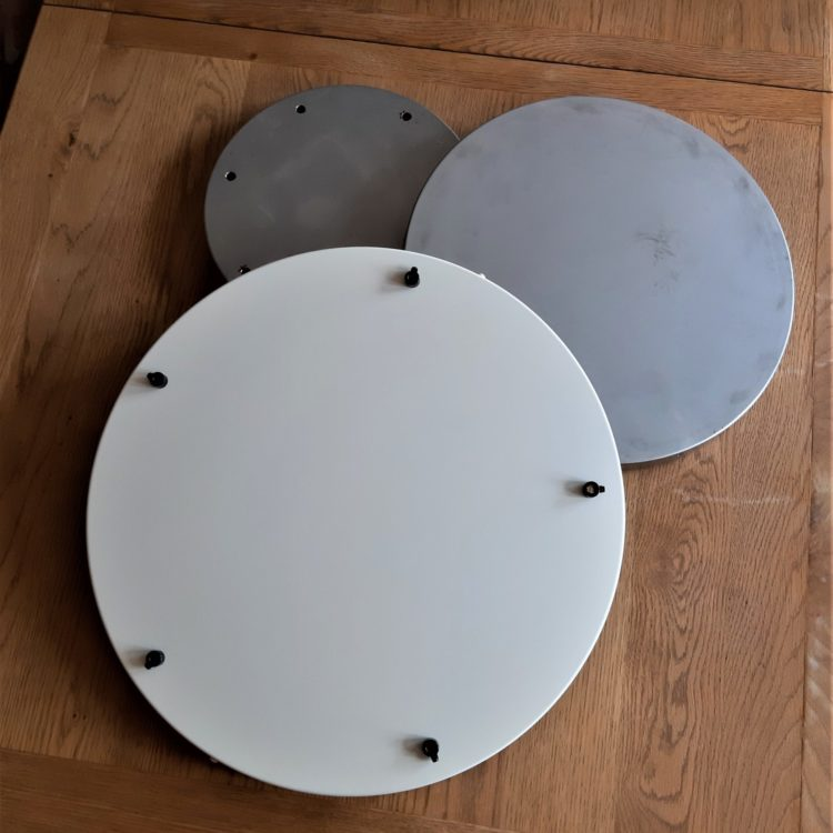 Multi-outlet XL ceiling Roses